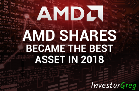 AMD Shares Became the Best Asset in 2018 Among the 500 Largest Companies
