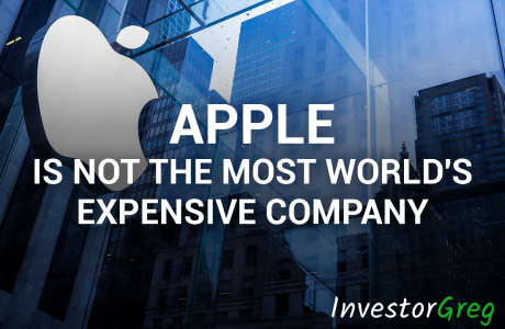 Apple Is No Longer the Most Expensive Company in the World