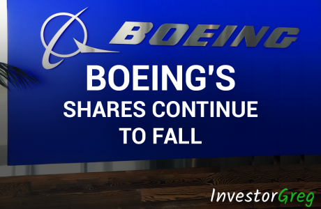 Boeing shares continue to fall against the background of the suspention on flying of 737 Max