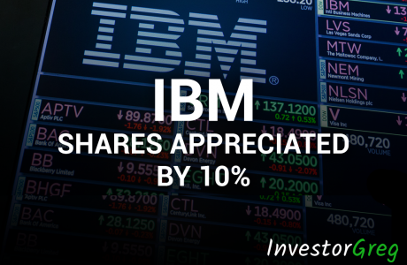 IBM Shares Appreciated by 10% and Showed the Fastest Growth in Ten Years
