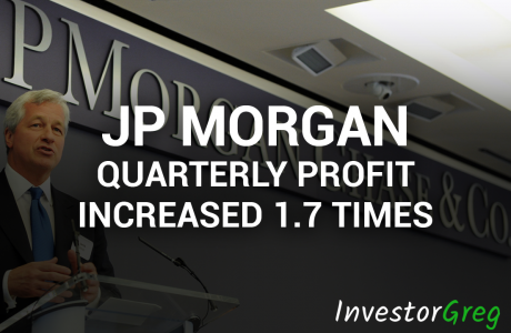 JP Morgan Quarterly Profit Increased 1.7 Times in the 4th Quarter