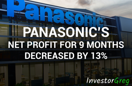 Panasonic Net Profit for 9 months Decreased by 13%