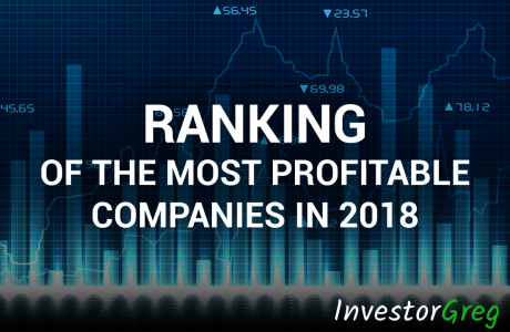 Ranking of the Most Profitable Companies in 2018