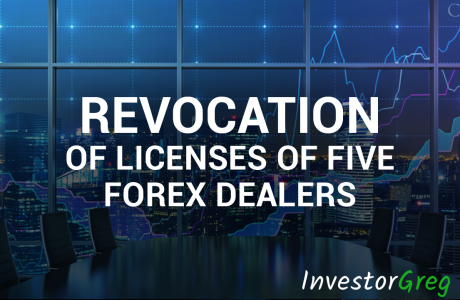 The Central Bank Announced the Revocation of Licenses of Five Forex Dealers