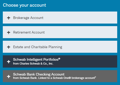 schwab accounts